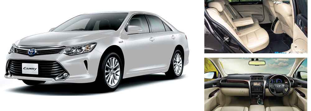 Car Rental India Toyota Camry Toyota Camry Luxury Car Hire